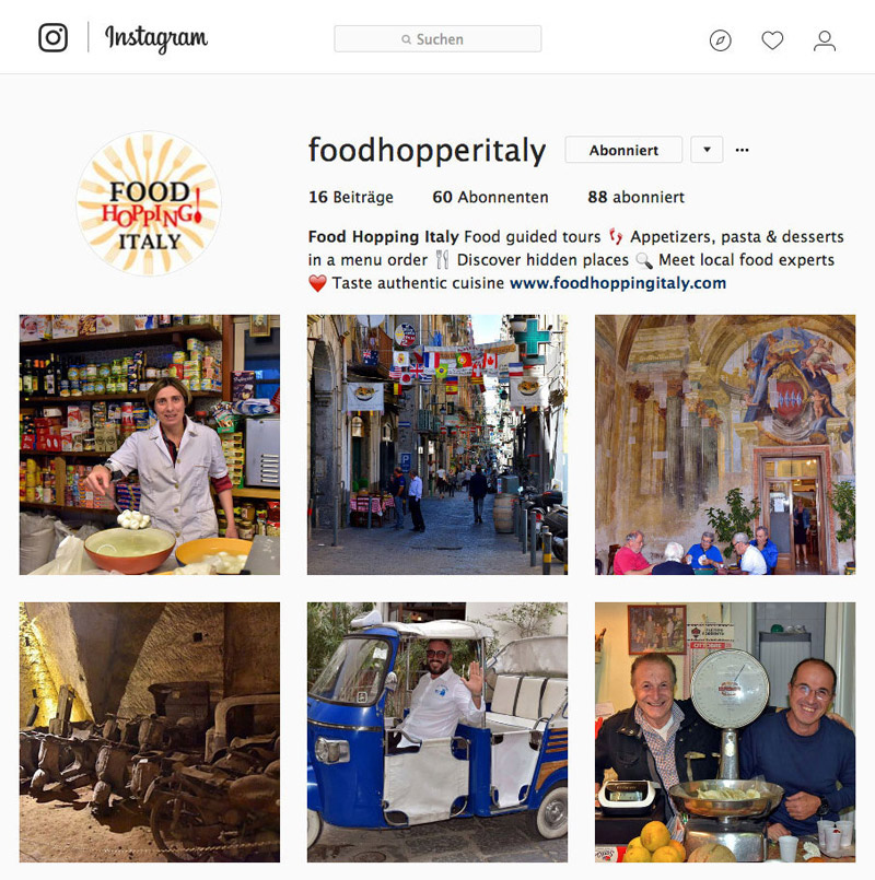 Food Hopping Tours
